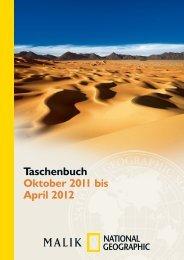 Taschenbuch Oktober 2011 bis April 2012 - Piper Verlag GmbH