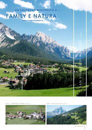 family e natura family e natura - San Vigilio