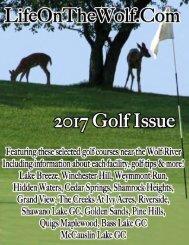 LifeOnTheWolf.Com 2017 Golf Issue
