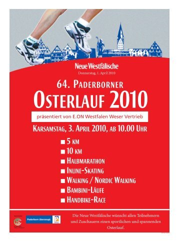 64. PADERBORNER - Paderborner Osterlauf