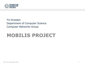 mobilis project - Computer Networks
