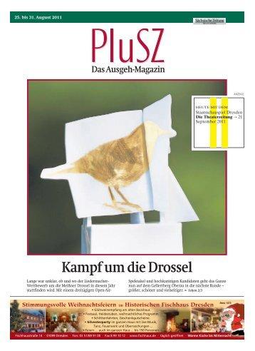 Kampf um die Drossel - Sächsische Zeitung