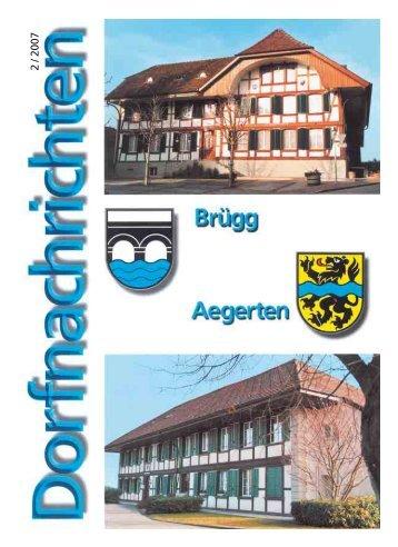 Dorfnachrichten Juni '07 (pdf 1 Mb) - Gemeinde Brügg