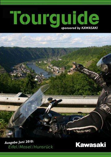by KAWASAKI Eifel / Mosel / Hunsrück - Motorradstraße Deutschland
