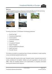 Über uns: - Private Fachschule für Wirtschaft und Soziales gGmbH