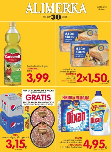 Folleto Alimerka ofertas hasta 28 junio 2017