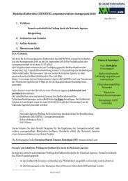 Korrekturen des Berichts - NA-BIBB