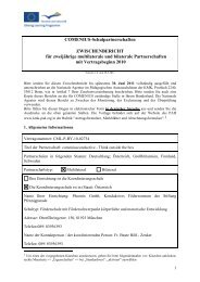 Comenius Projekt - Phoenix GmbH · Konduktives Förderzentrum