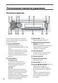 Sony CDX-GT560UI - CDX-GT560UI Consignes d'utilisation Ukrainien - Page 6