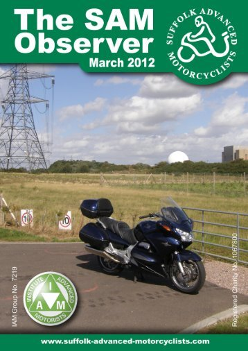 The SAM Observer - Suffolk Advanced Motorcyclists