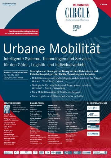 Urbane Mobilität 2012 - Business Circle