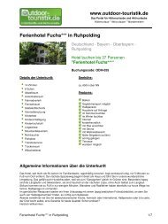 Ferienhotel Fuchs*** in Ruhpolding - Outdoor-Touristik