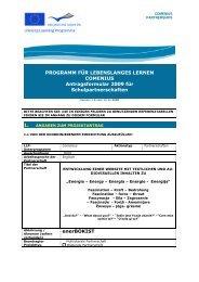 Antrag Comenius HvK - 295.2 KByte - Heinrich-von-Kleist-Schule