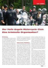 Der Hells Angels Motorcycle Club: Eine kriminelle ... - Kripo.at