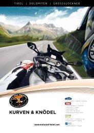 KURVEN & KNöDEL - Motorrad-Hotels Alpen