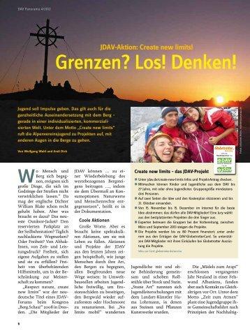 Mensch - Deutscher Alpenverein