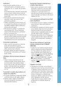 Sony DCR-SX65E - DCR-SX65E Consignes d'utilisation Tchèque - Page 4