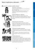 Sony DCR-SX65E - DCR-SX65E Consignes d'utilisation Tchèque - Page 7