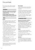 Sony DCR-SX65E - DCR-SX65E Consignes d'utilisation Croate - Page 2