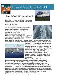 3. Ab 21.April 2009 durch Irland - Odyssee Wohnmobilreisen