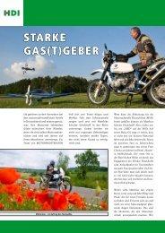 Starke GaS(t)Geber - Road Concept