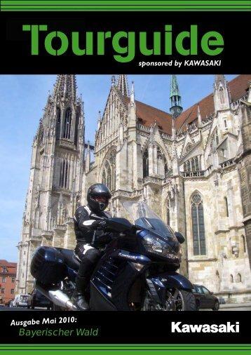 by KAWASAKI Bayerischer Wald - Motorradstraße Deutschland
