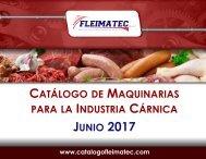 Catálogo de Maquinarias junio 2017