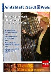 Amtsblatt der Stadt Wels _Februar_2010 (7 MB)
