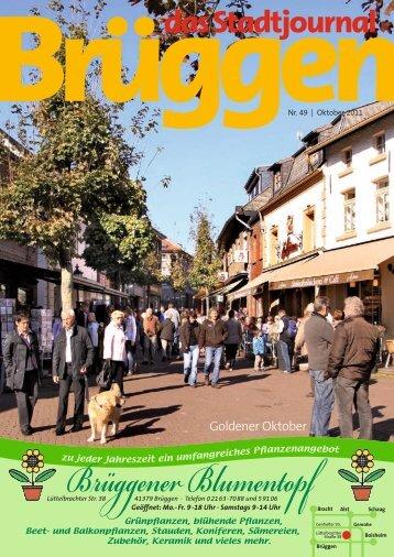 Stadtjournal Oktober 2011.pdf - Stadtjournal Brüggen