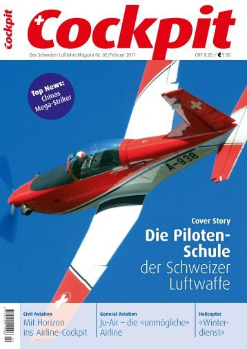 Das Schweizer Luftfahrt-Magazin Nr. 02 - Cockpit