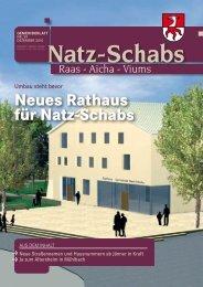 neues Rathaus für natz-Schabs