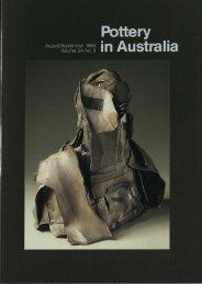 Pottery In Australia Vol 24 No 3 August September 1985