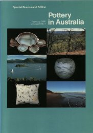 Pottery In Australia Vol 25 No 1 February 1986