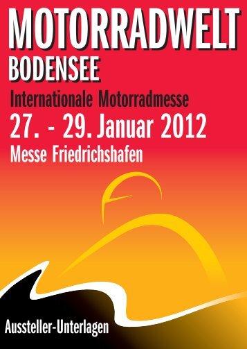 MOTORRADWELT BODENSEE 2012 | Aussteller-Unterlagen
