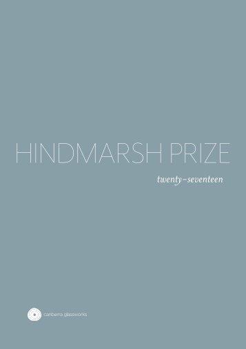 Hindmarsh Prize 2017