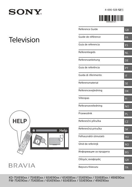 Genuine Original SONY BRAVIA TV KD49XE9005 Alimentation Câble Adaptateur AC PLOMB
