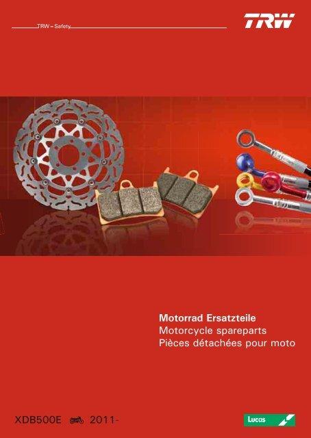 Lucas Bremsbel/äge TRW MCB519EC f/ür Piaggio//Vespa NRG 50/mc3/Purejet C32/02- vorne