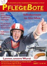 Pflegebote 7 (Ausgabe Saarland) PDF - Sozialstation ...