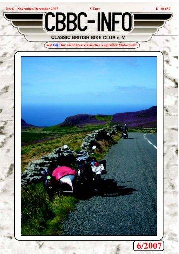 6/2007 - CBBC - Classic British Bike Club