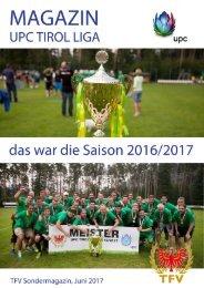 UPC Tirol Liga Saison 2016/2017