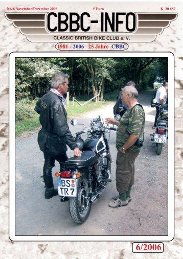 6/2006 - CBBC - Classic British Bike Club