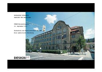 Kreativzentrum und Hochschule Pforzheim - Eine symbiotische