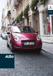 Das A und O des Alto: Ihre Sicherheit. - Suzuki