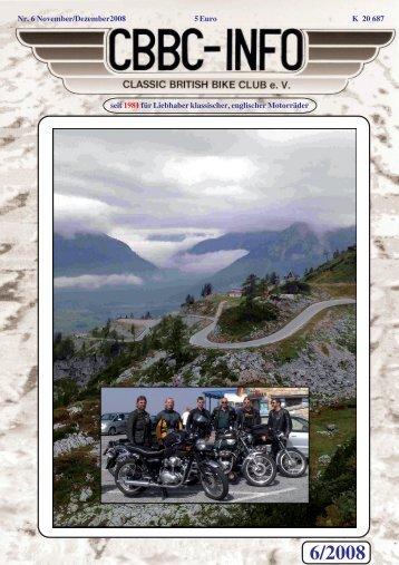 6/2008 - CBBC - Classic British Bike Club