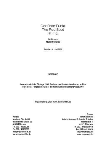 Regie Und Buch Marie Reich M Nchner Filmwerkstatt Ev