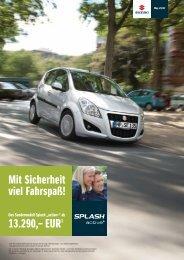 """Splash """"active+"""" - Suzuki"""