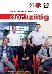 Dorfziitig Mai 2012 - Gemeinde Winkel