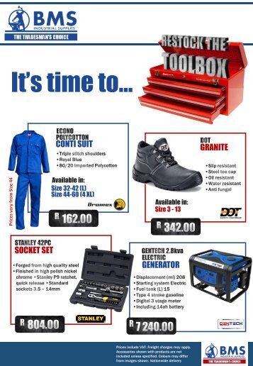 Restock the toolbox 2017