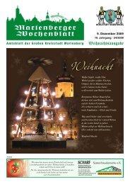 Weihnachten in Familie - Bergstadt Marienberg