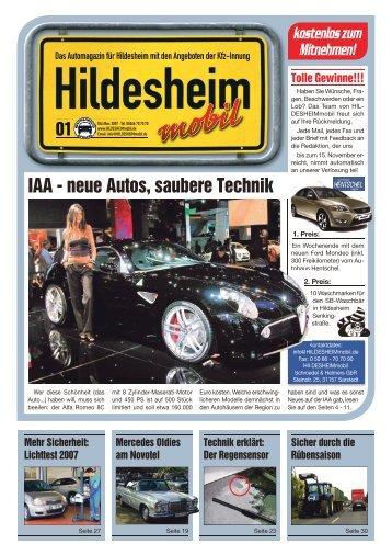 IAA - neue Autos, saubere Technik - Verlag Team Schroedel